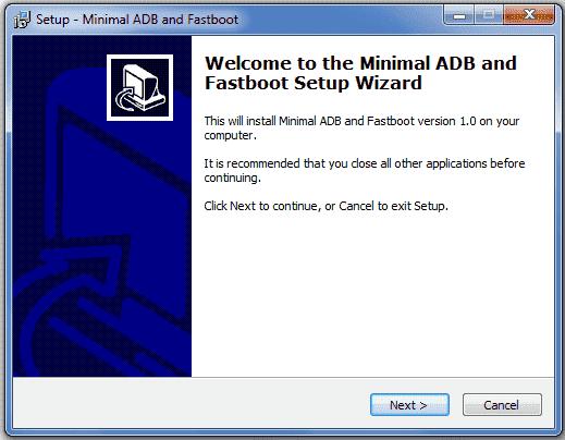 cara install adb dan fastboot
