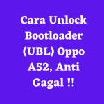 Unlock bootloader oppo a52