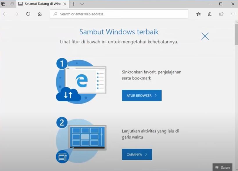 Cara reset windows 10